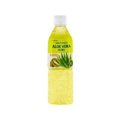 Напиток «Алоэ Вера» негазированный с мякотью алоэ со вкусом Киви (Lotte Aloe Vera), ПЭТ, 20 шт по 0,5 л