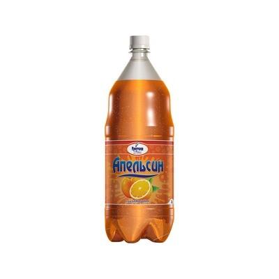 Сильногазированный напиток «Апельсин», ПЭТ, 6 шт. по 2 л
