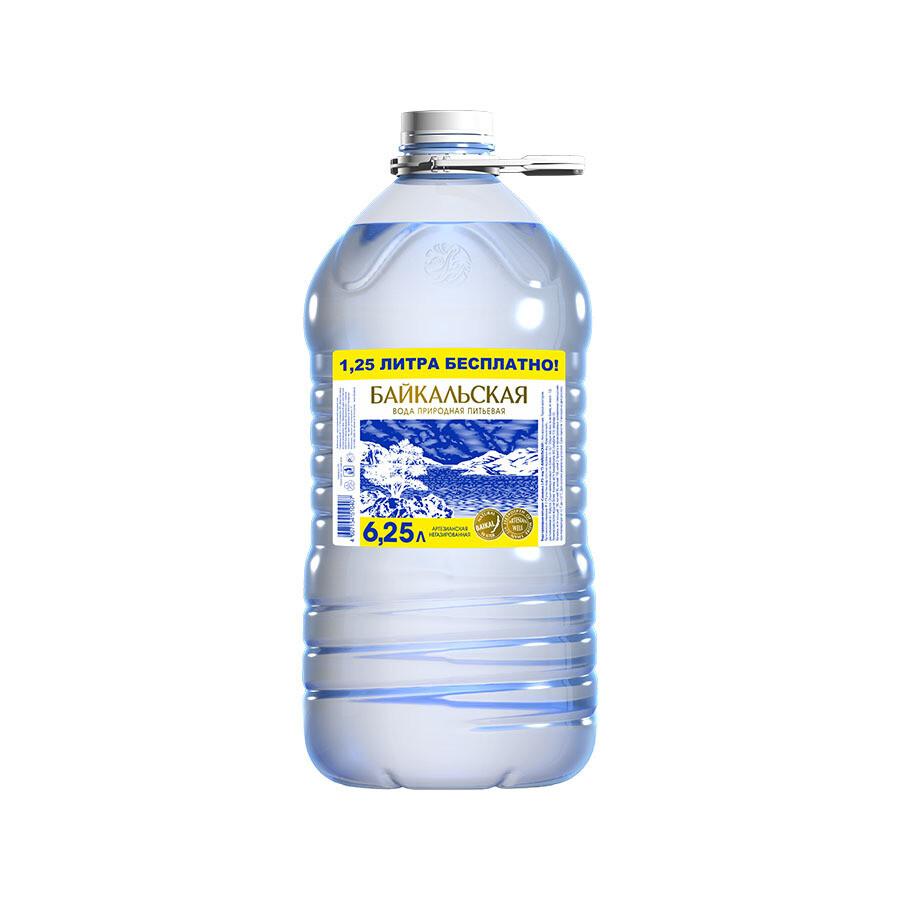 Питьевая вода «Байкальская» не газ., ПЭТ, 2 шт. по 6,25 л