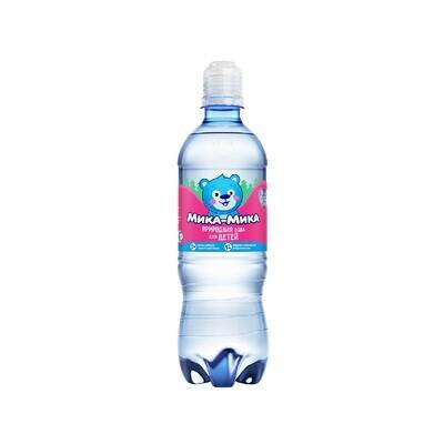 Природная вода для детей «Мика-Мика», ПЭТ, 12шт. по 0,5 л