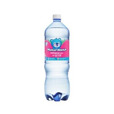 Природная вода для детей «Мика-Мика», ПЭТ, 6шт. по 1,5 л