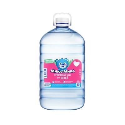 Природная вода для детей «Мика-Мика», ПЭТ, 2шт. по 5 литров