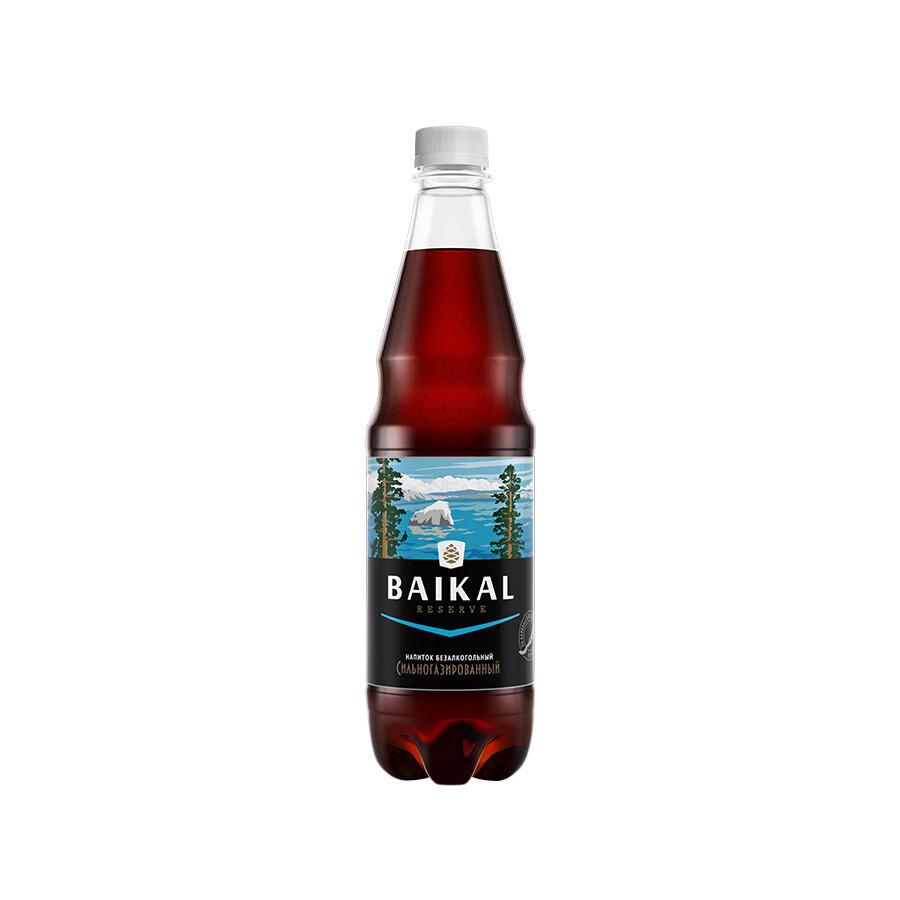 Безалкогольный низкокалорийный сильногазированный напиток BAIKAL RESERVE , ПЭТ, 12 шт. по 0,6 л