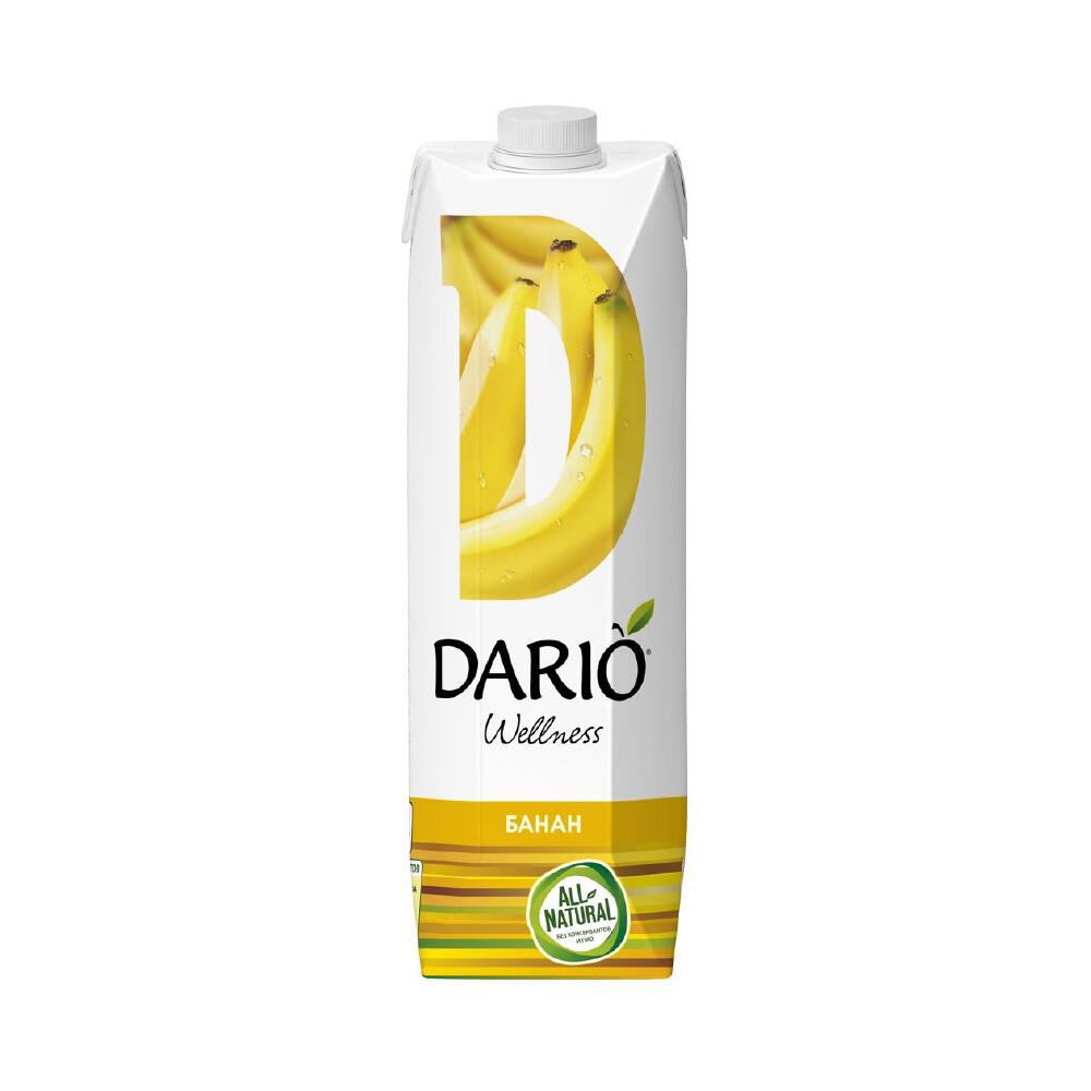 Дарио Велнес Банан, 6 шт. по 0,95 л