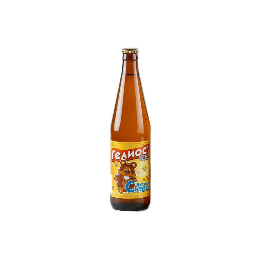 Напиток Гелиос «Экстра-ситро», стекло 20шт. по 0.5 л,