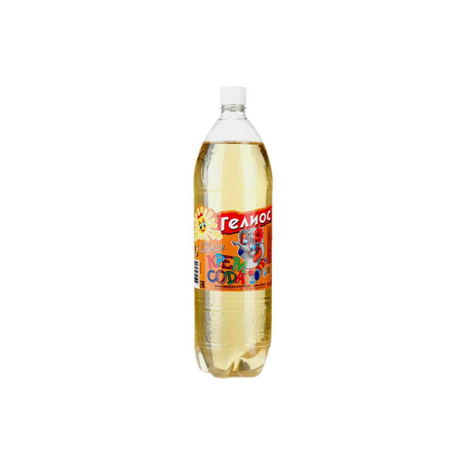 Напиток Гелиос «Крем-сода», ПЭТ 9шт. по 1.5 л,