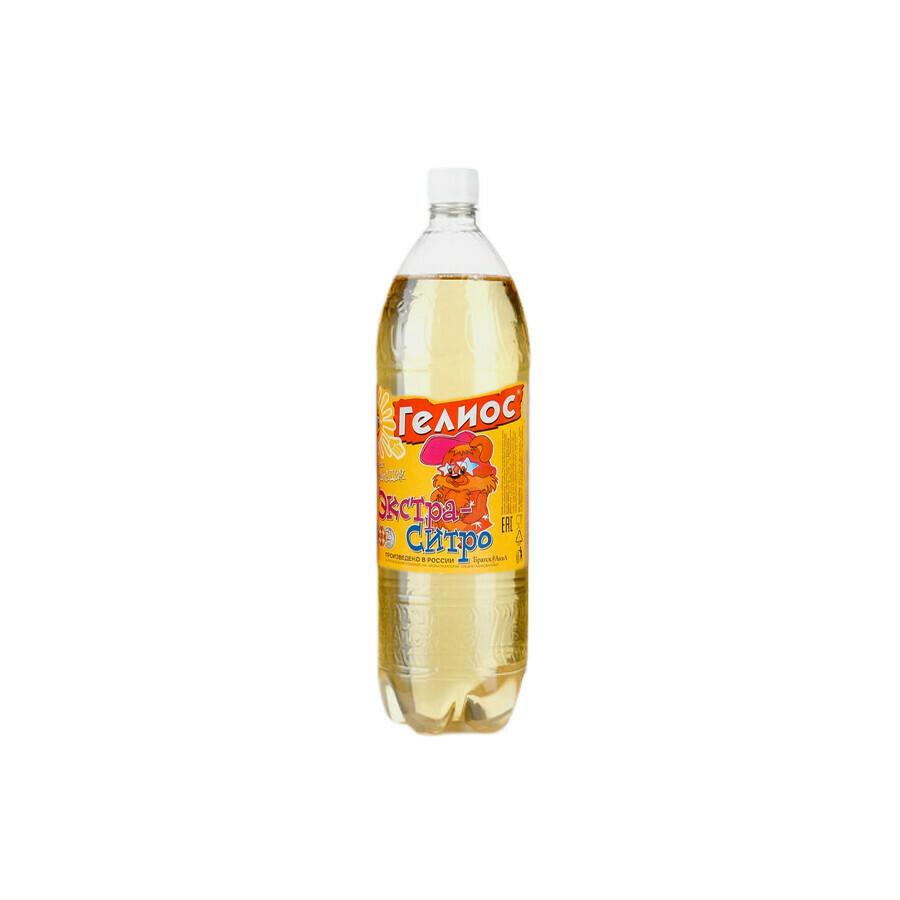 Напиток Гелиос «Экстра-ситро», ПЭТ 9шт. по 1.5 л,