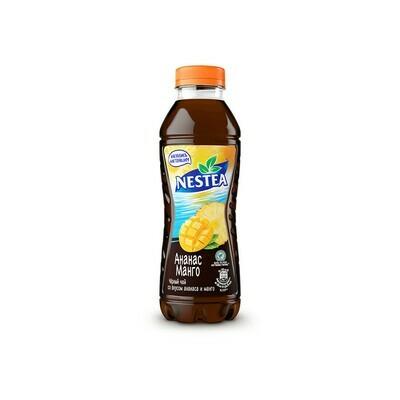 Нести «Черный чай со манго-ананаса» ПЭТ 6шт. по 0.5 л