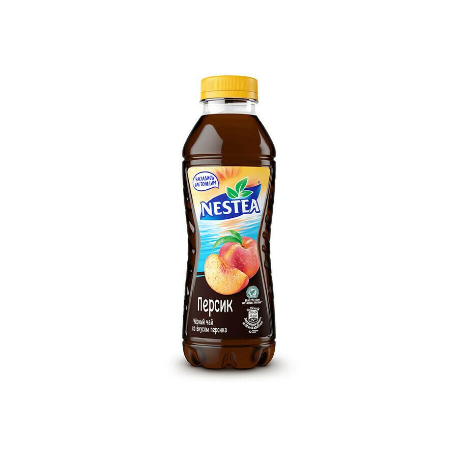 Нести «Черный чай со вкусом персика» ПЭТ 6шт. по 0.5 л