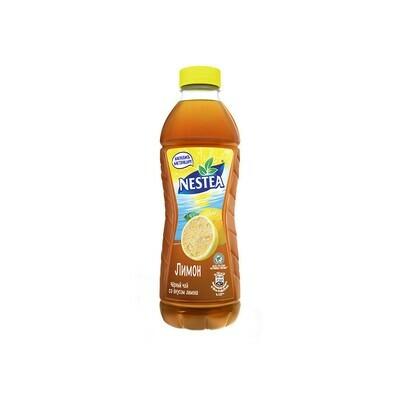 Нести «Черный чай со вкусом лимона» ПЭТ 6шт. по 1 л