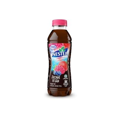 Нести «Черный чай со вкусом лесных ягод» ПЭТ 6шт. по 0.5 л