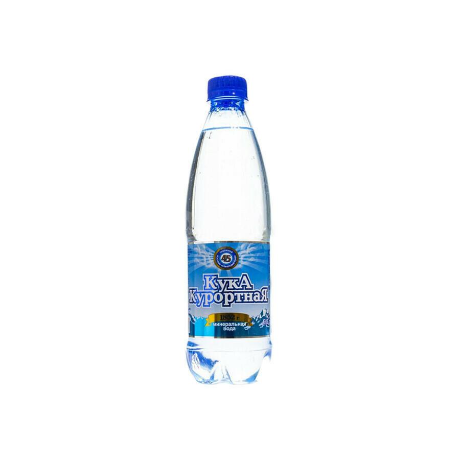 Кука Курортная минеральная вода ПЭТ 16шт 0,5 л