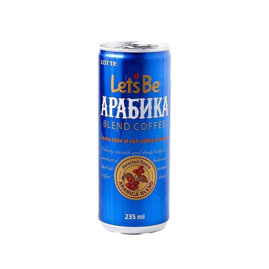Кофейный напиток Lets be Arabica 30шт 0,24л