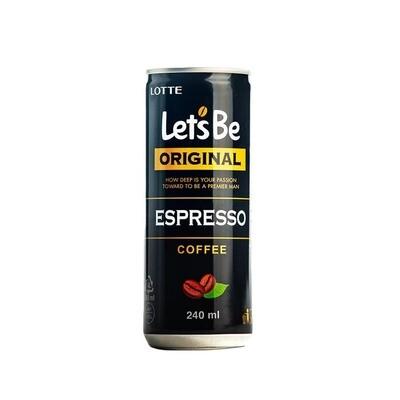Кофейный напиток Lets be Espresso 30шт 0,24л