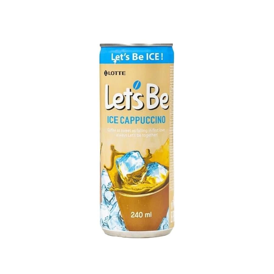 Кофейный напиток Lets be ICE Cappuccino 30шт 0,24л