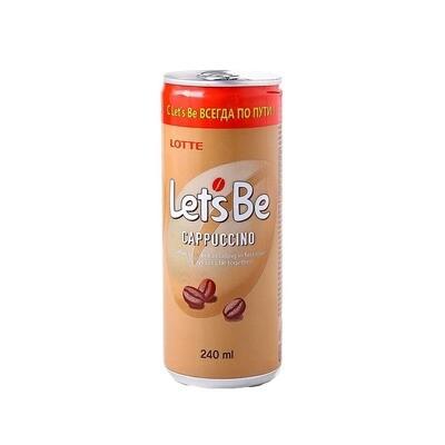 Кофейный напиток Lets be Cappuccino 30шт 0,24л