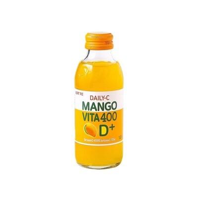 Напиток DAILY C Mango 10шт 0,140л.