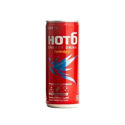 Энергетический напиток HOT Grapefruit 30шт 0,25 л