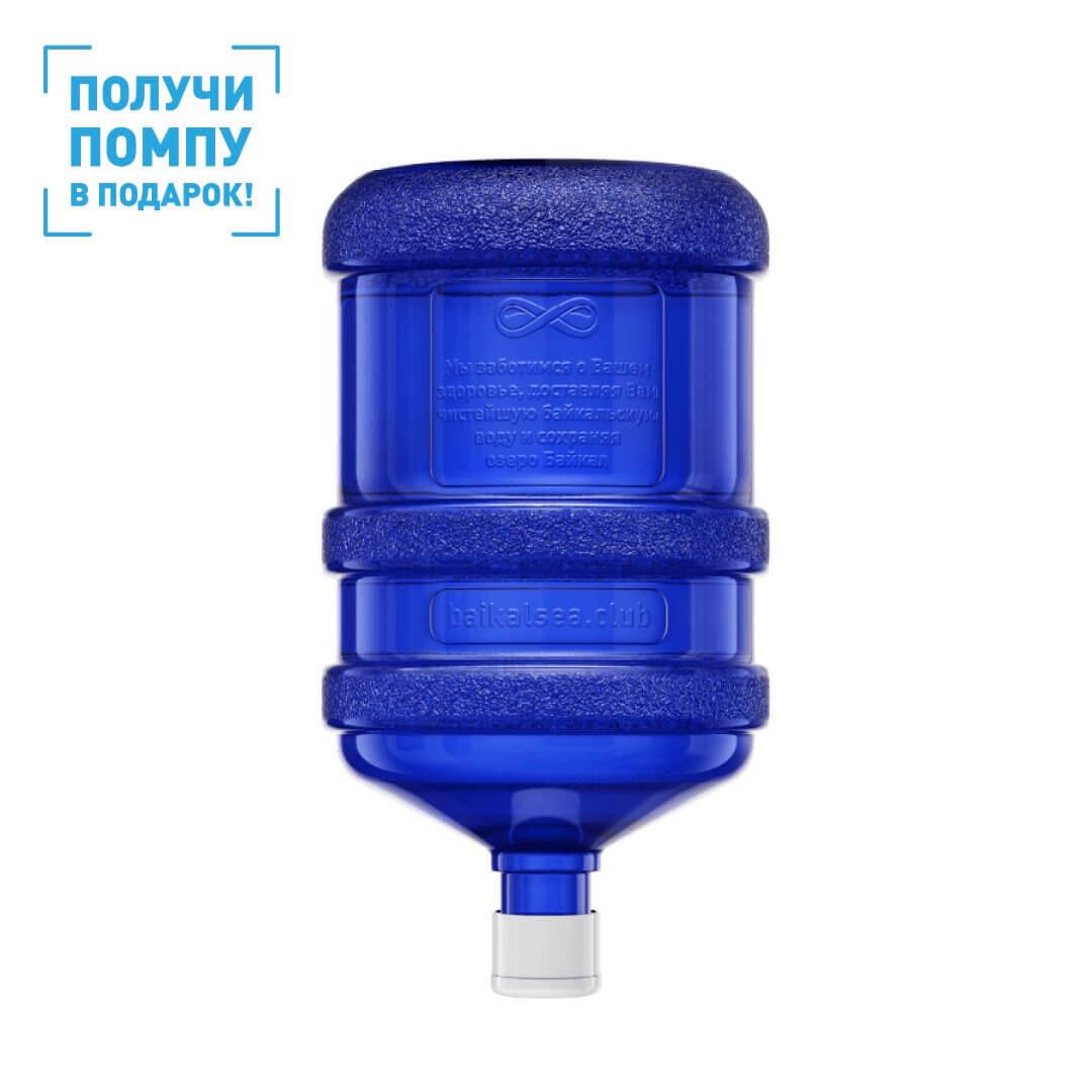 BAIKALSEA, глубинная вода озера Байкал, негазированная, 18,9л, ПКТ