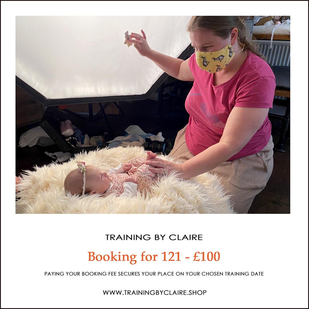 121 Training booking fee