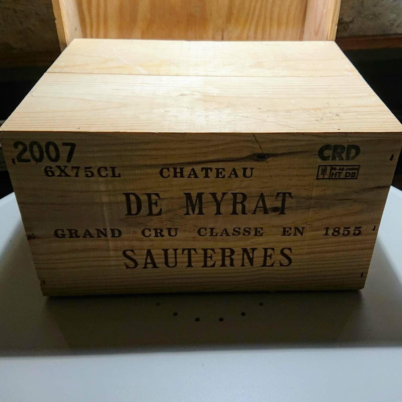 Chateau de Myrat Sauternes 2007 | 400,- pr. fl.