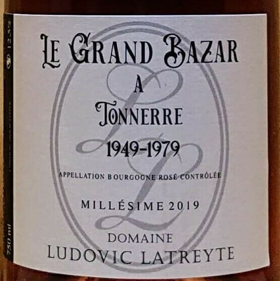 Bourgogne Rosé Domaine Ludovic Latreyte 2019