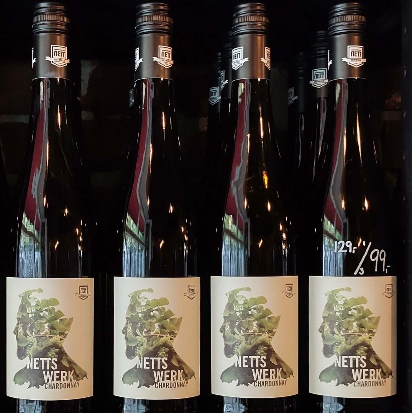 Chardonnay Nettswerk  2018  | v/3 fl. 99,-