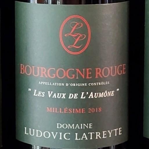 "Bourgogne Rouge ""Vaux Aumone"" 2018"