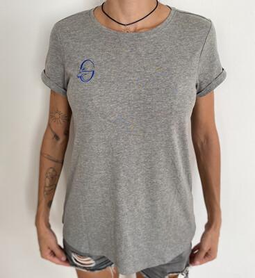 Goat-lady T-shirt (gri)