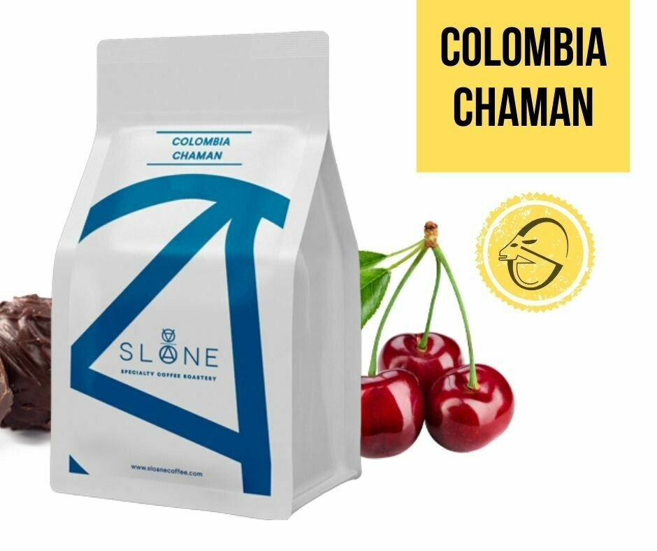 COLOMBIA CHAMAN Sloane Coffee Roasters Cafea de specialitate