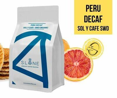 Peru Sol y Cafe SWD Organic Decaf Sloane Coffee Roasters Cafea de specialitate