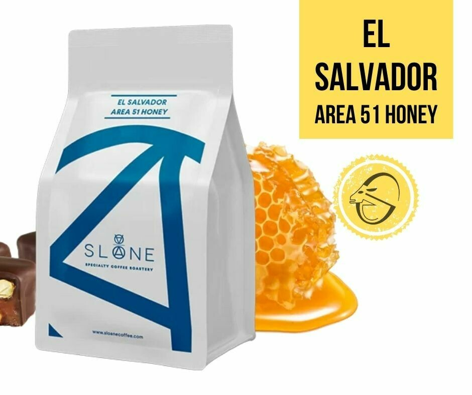 EL SALVADOR AREA 51 HONEY Sloane Coffee Roasters Cafea de specialitate