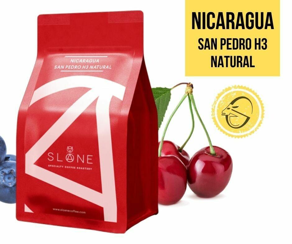 Nicaragua San Pedro H3 Natural Sloane Coffee Roasters Cafea de specialitate