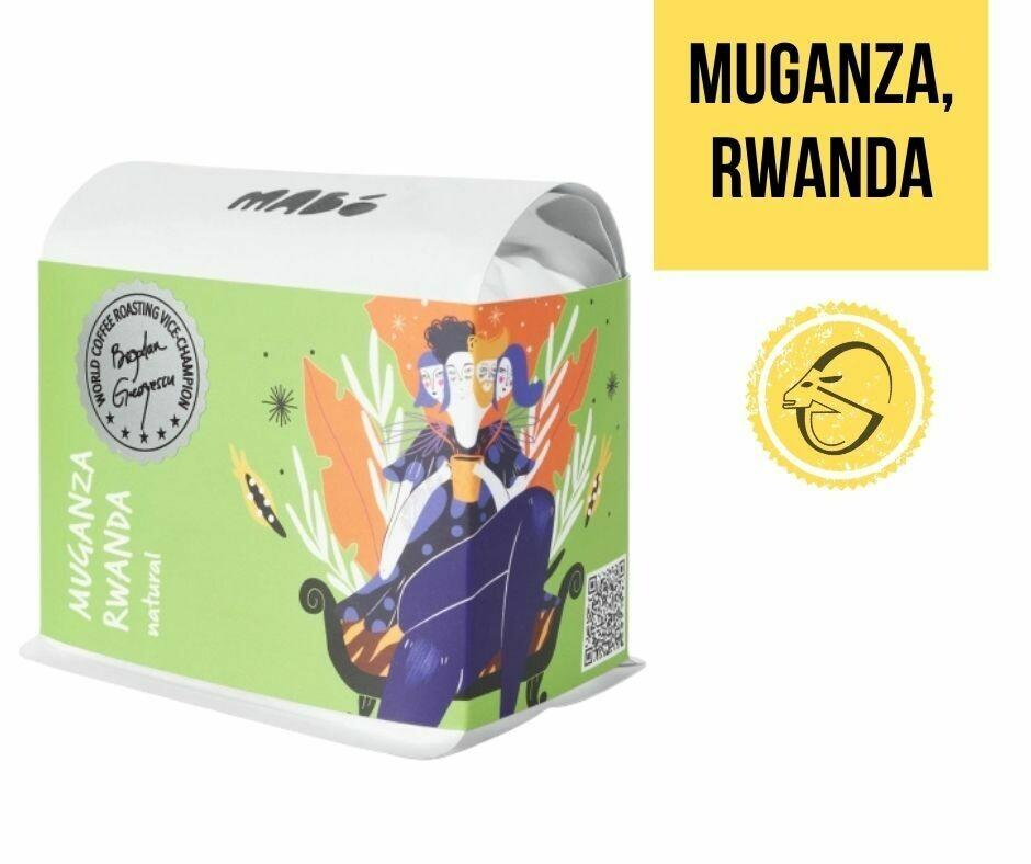 Muganza, Rwanda Mabo Roasters, Cafea de specialitate