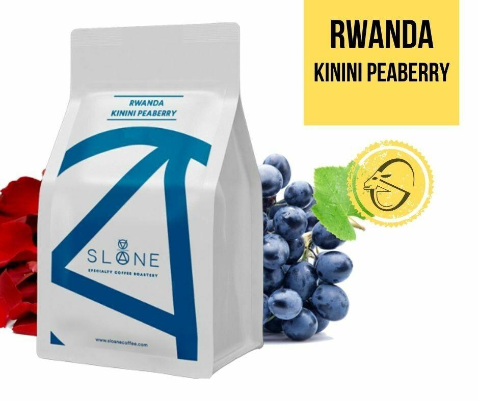 Rwanda Kinini Peaberry Natural Sloane Coffee Roasters Cafea de specialitate