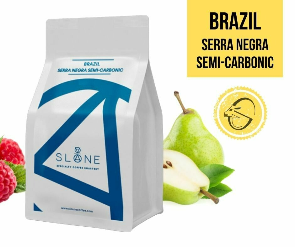Brazil Serra Negra semi-carbonic Sloane Coffee Roasters Cafea de specialitate
