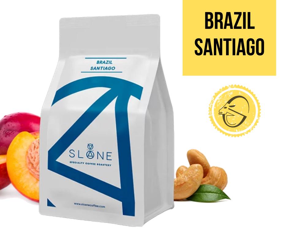 Brazil Santiago Sloane Coffee Roasters Cafea de specialitate