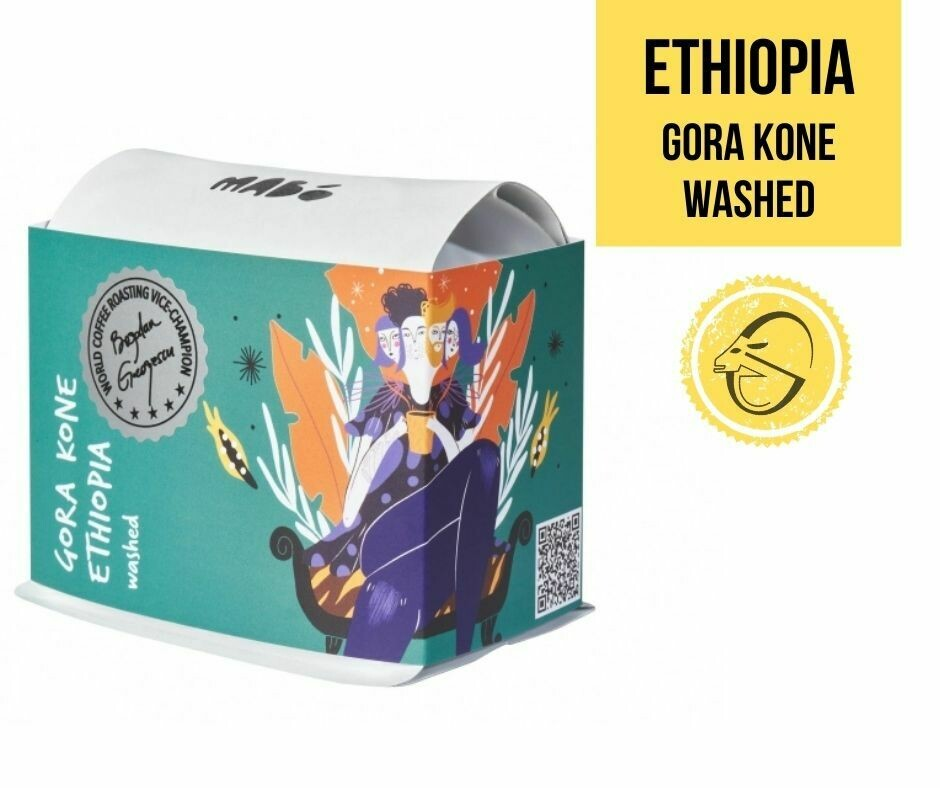 Ethiopia Gora Kone (washed) Mabo Roasters, Cafea de specialitate
