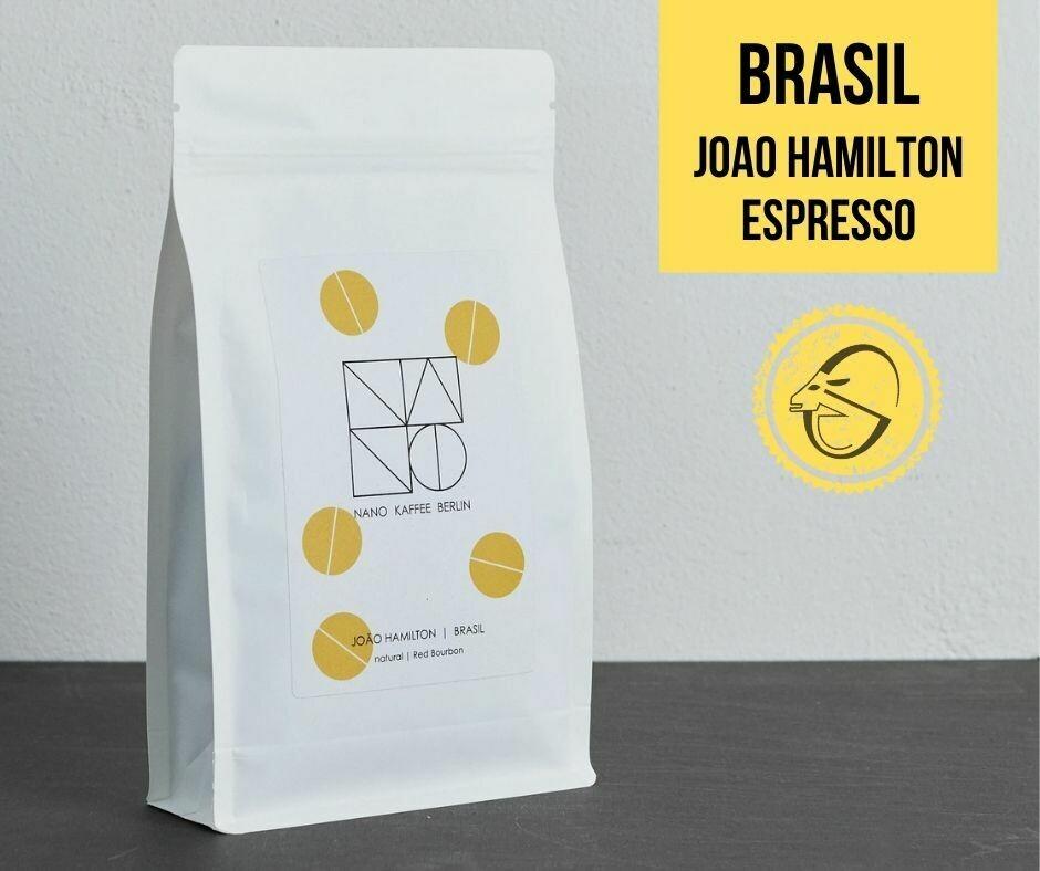 Brasil | João Hamilton Cafea de specialitate Nano Kaffee, pentru Espresso