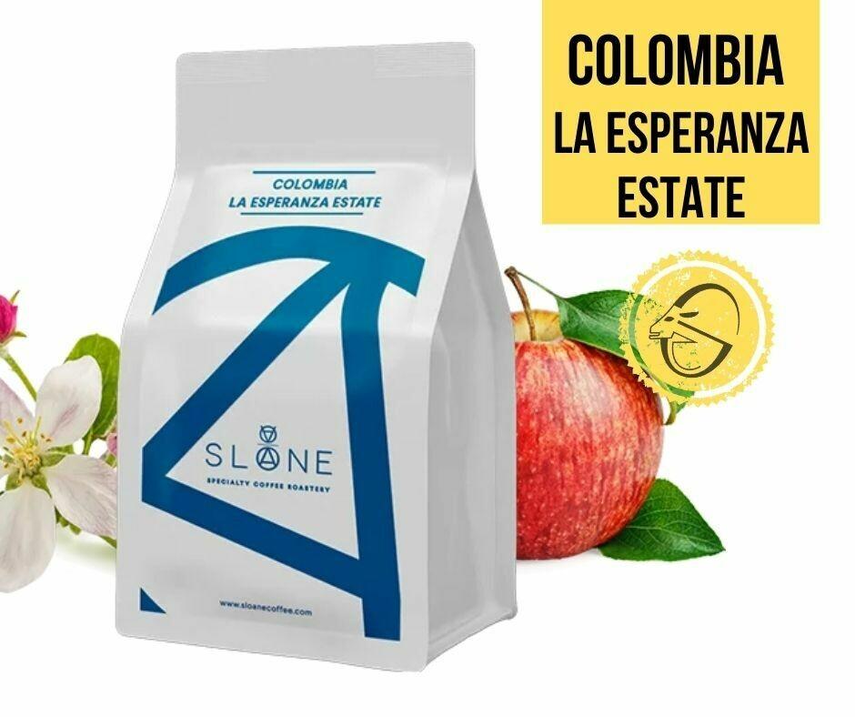 Colombia la Esperanza Estate Sloane Coffee Roasters Cafea de specialitate boabe