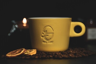 Latte cup (yellow)