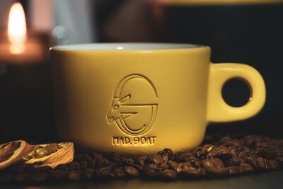 Cappuccino cup (yellow)