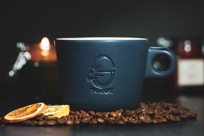 Latte cup (blue)