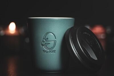 Aeropress cup (blue)