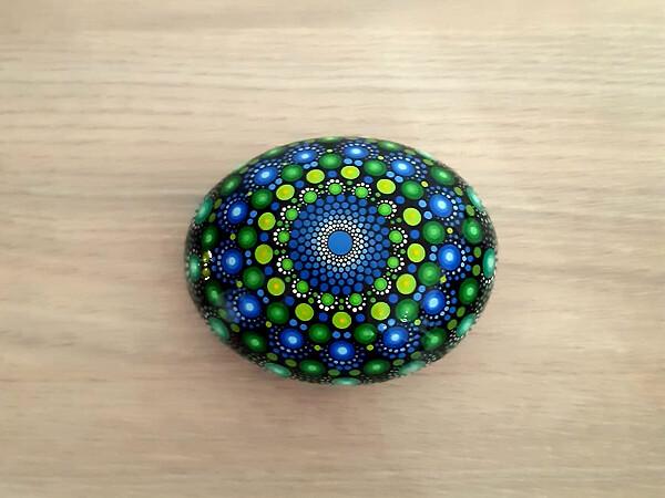 Mándala Azul/Verde