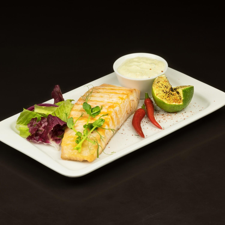 Филе лосося на гриле 150/40/20/5 гр.