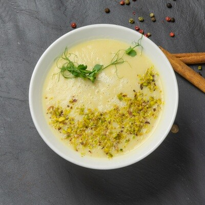 Крем-суп из цветной капусты с фисташками 300 гр.