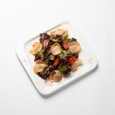 Микс салатов с карпаччо из индейки 200 гр.