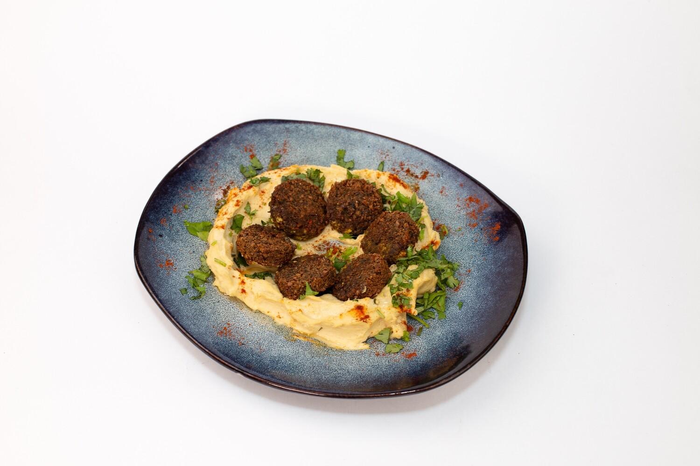 Хумус классический с фалафелем 150/100/30 гр.