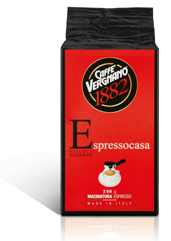 Vergnano Espresso Casa őrölt kávé 250g
